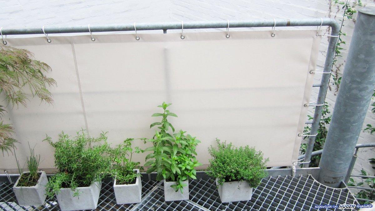 Balkonbespannung Balkonschutz Sichtschutz Hugen Gmbh In Kaarst